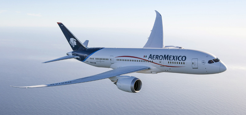 Boeing 787 - Aeroméxico