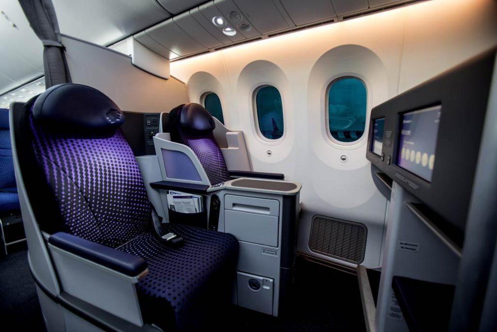 Aeromexico cumpli 10 a os volando a argentina hangar x for Interior 787 aeromexico