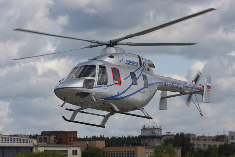 Maks 2017 Rostec Russian Helicopters Ansat