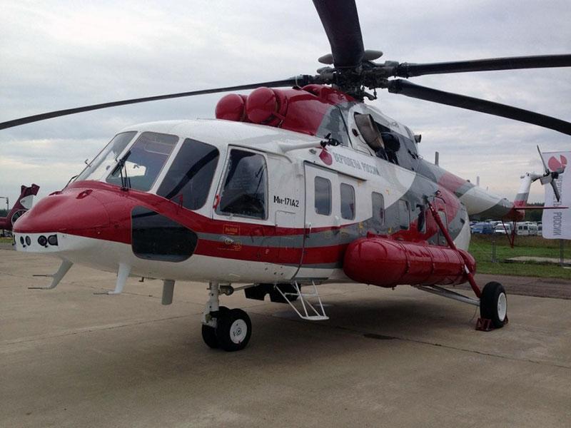 Maks 2017 Rostec Mi-171A2