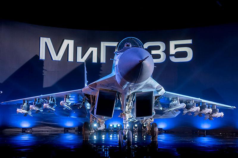 Maks 2017 Rostec MiG-35
