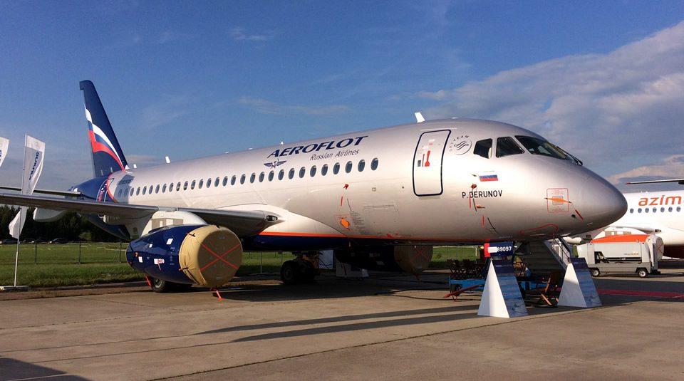 Sukhoj Superjet 100 - Aeroflot