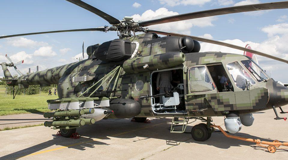Helicóptero de Combate: Mi-171SH