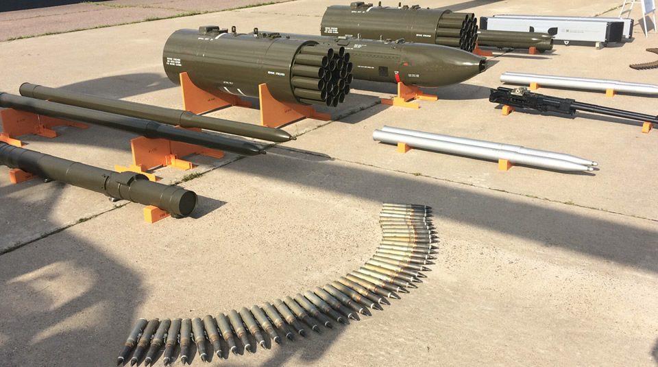 Armas del Helicóptero de Combate Mi-28NE