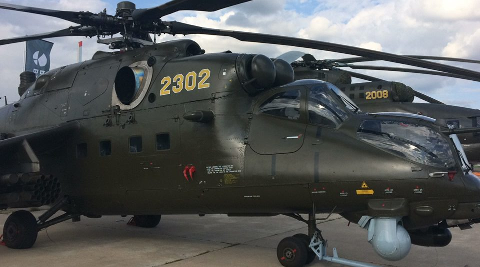 Helicóptero de Combate: Mi-35M