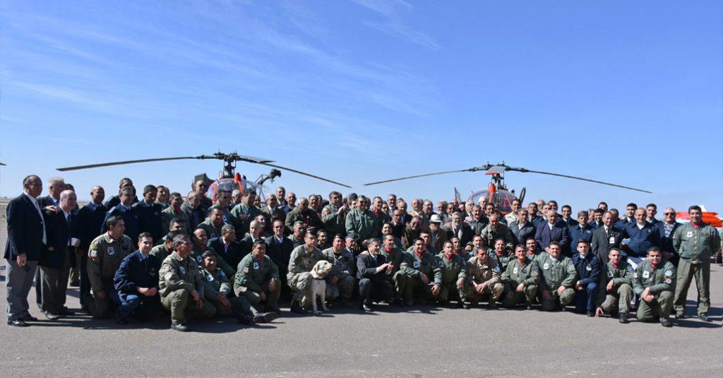 hangarx fuerza aerea argentina escuadron lama mendoza busqueda rescate 40 aniversario