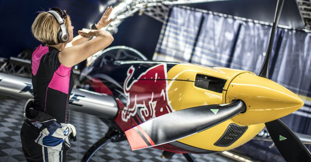 hangarx-redbull-air race-first-female-pilot-melanie-astles-beatsbydre