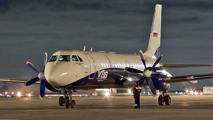 Rusia Avión Ilyushin 114-300 Corporación Rostec