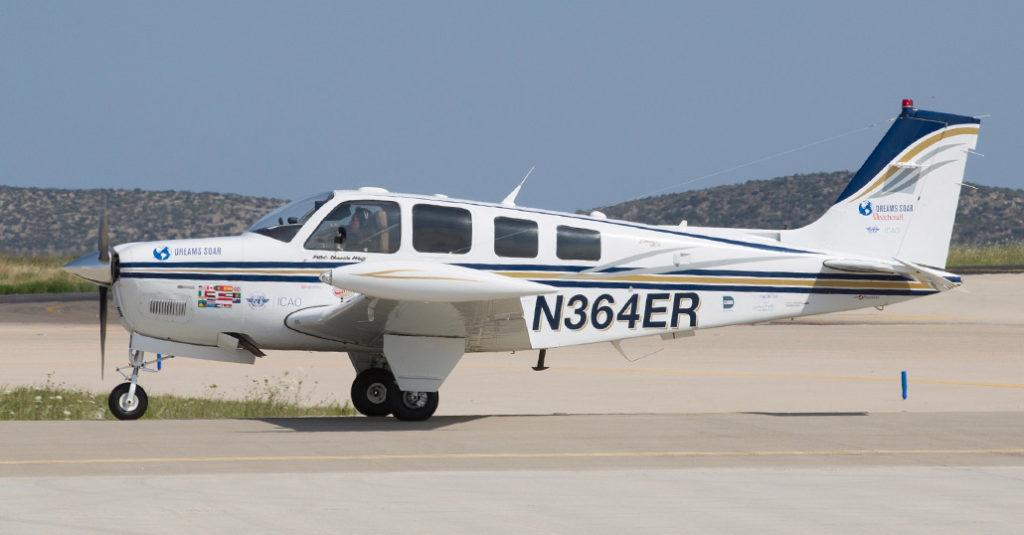 HANGAR X - El vuelo de Shaesta Waiz con un Beechcraft Bonanza A36, la convirtío en la mujer más joven en dar la vuelta al mundo en un avión monomotor - Dreams Soar