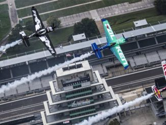 red bull air race world championship 2017 indianapolis race track formation flight Joerg Mitter