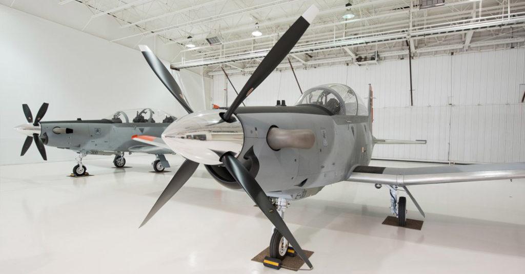 textron aviation beechcraft texan II escuela de aviación militar fuerza aerea argentina cordoba hangarx