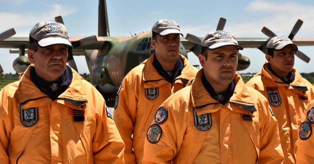 HANGAR X - Regreso al continente de la Dotación Nº48 - Campaña Antártica de Verano - Fuerza Aérea Argentina