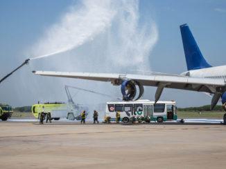 HANGAR X - Simulacro de accidente aéreo en las instalaciones del Aeropuerto Internacional de Ezeiza realizado por la Administración Nacional de Aviación Civil (ANAC)