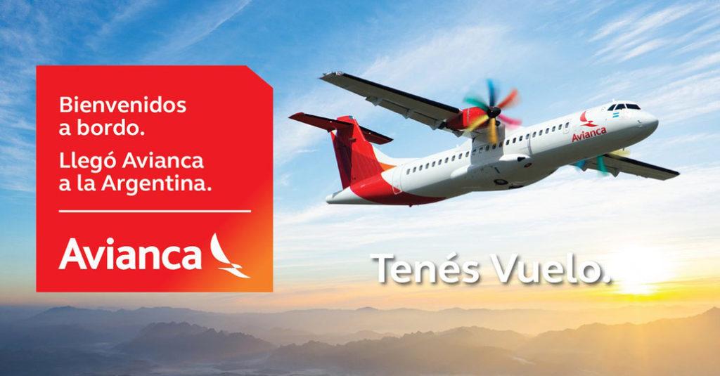HANGAR X - Así promociona Avianca Argentina el inicio de sus operaciones regulares en Argentina