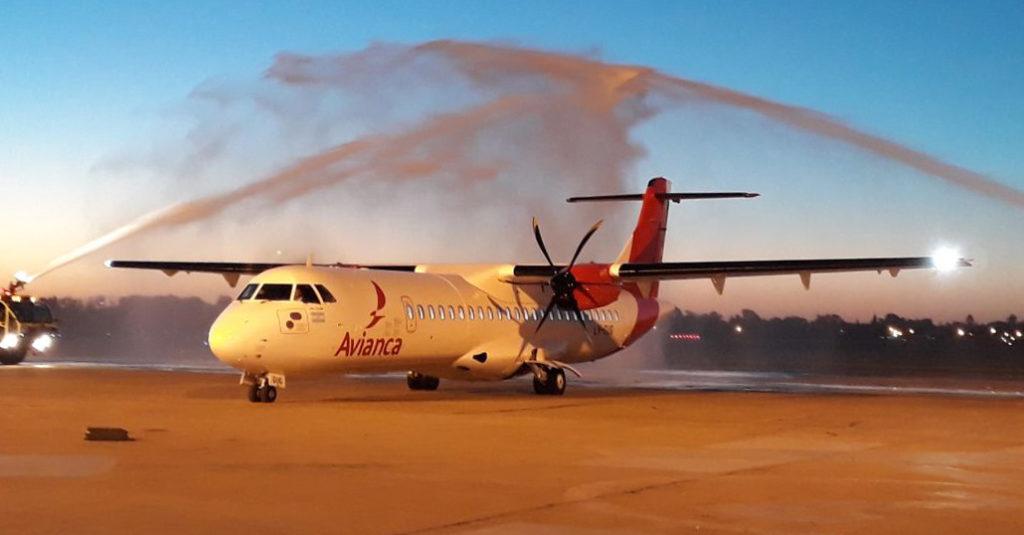 Avianca Argentina realizó su vuelo regular inaugural con su ATR 72-600 entre Buenos Aires y Roasario