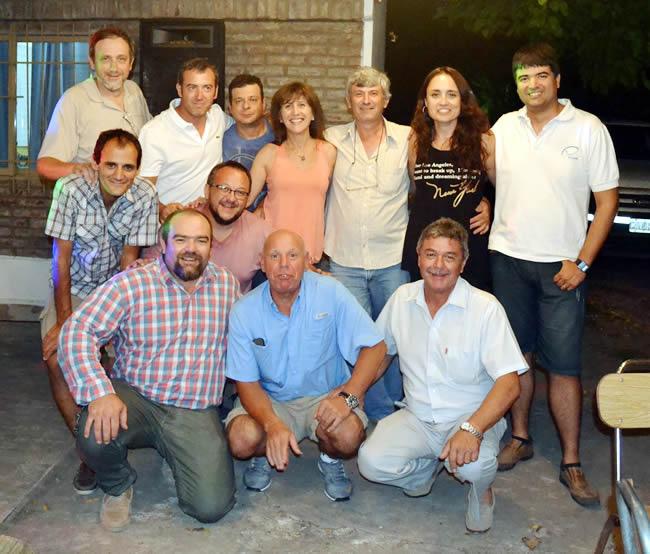 Vuelo a Vela - 75 Aniversario del Club de Planeadores Rafaela, provincia de Santa Fe - Argentina - Comisión Directiva
