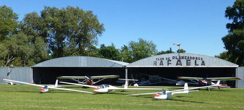 Centro de instrucción de vuelo del Club de Planeadores Rafaela, provincia de Santa Fe - Argentina