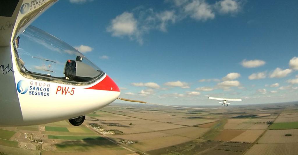 Vuelo a Vela - 75 Aniversario del Club de Planeadores Rafaela, provincia de Santa Fe - Argentina