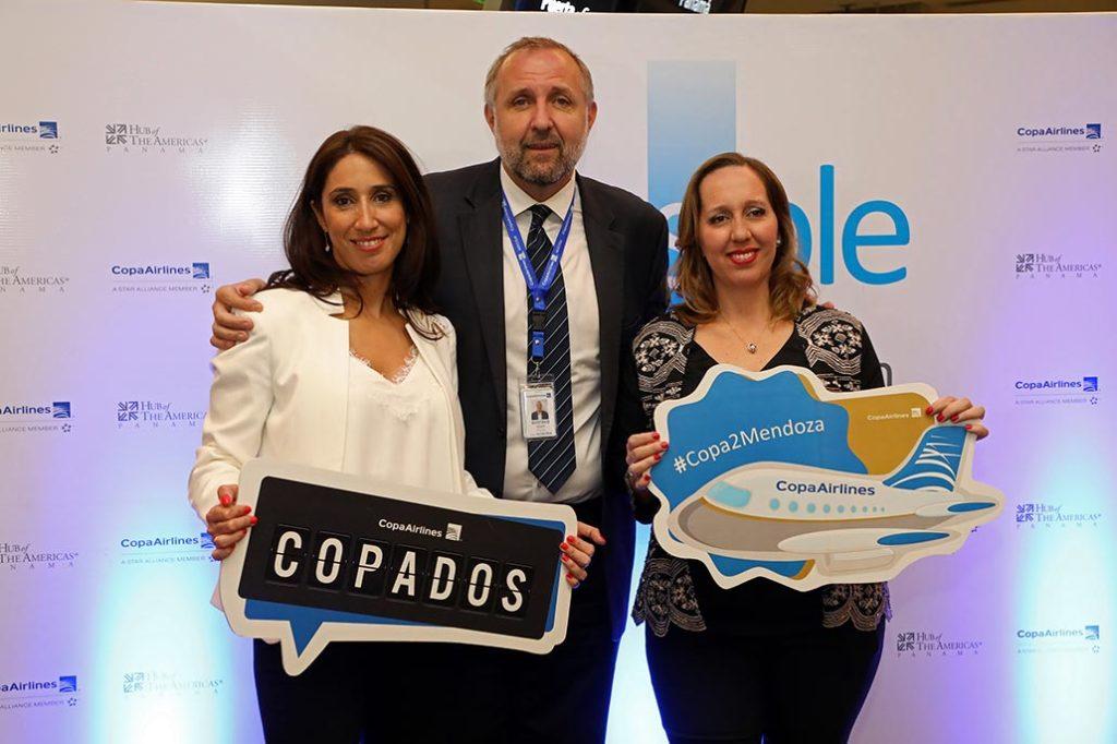 Desde el 16 de noviembre, Copa Airlines conecta por primera vez a la ciudad Argentina de Mendoza de manera directa con el Hub de las Américas ubicado en la Ciudad de Panamá.