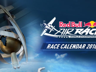 Calendario oficial de carreras del Red Bull Air Race 2018