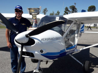 HANGAR X - Mauricio Dirrheimer del Aeroclub Ciudad de Paraná, se consagró Campeón Nacional de Aterrizajes de Precisión 2017 en el Aeroclub Bell Ville, Córdoba