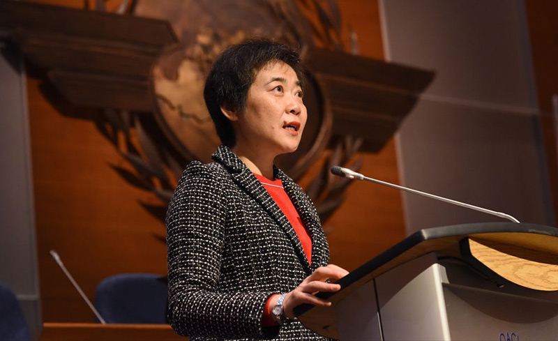 HANGAR X - ICAO Next Generation of Aviation Professionals NGAP Global Summit, Dra. Fang Liu - Secretaria General de la OACI