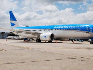 Aerolíneas Argentinas presento su primer Boeing 737MAX-8 y se convierte en el primer operador de América Latina