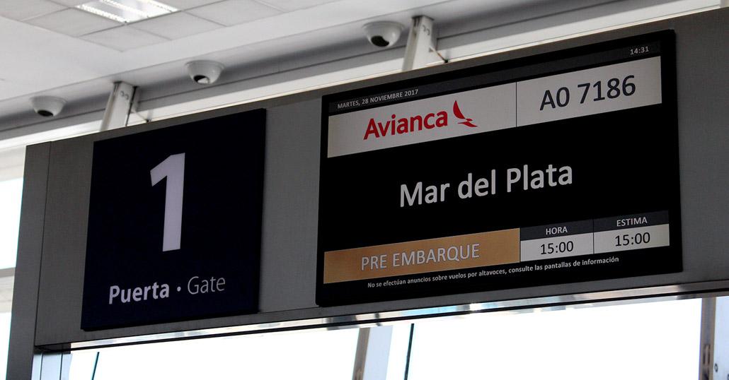 Avianca Argentina Inaugur Sus Vuelos Regulares A Mar Del