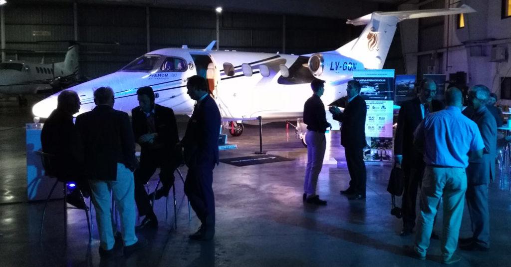 Embraer selecciona centro de servicio autorizado para jets ejecutivos en Argentina