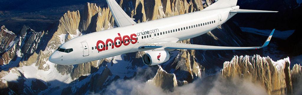 HANGAR X - Andes Líneas Aéreas, información, vuelos, horarios