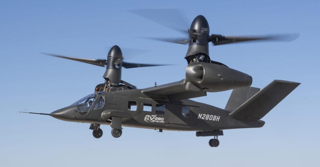 """Bell Helicopter realizó el primer vuelo del """"V-280 Valor"""""""
