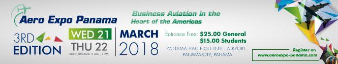 HANAGAR X - Aero Expo Panamá 2018 - Lo mejor de la aviación de Negocios en el corazón de las Américas.