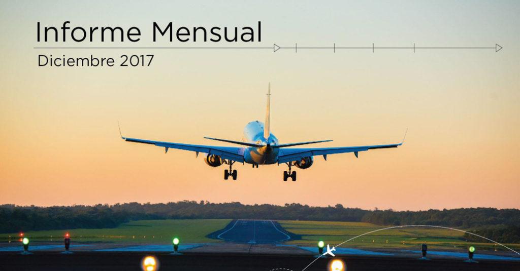 HANGAR X - Según el informe mensual de EANA, creció un 15% el número de pasajeros que volaron durante 2017 en Argentina
