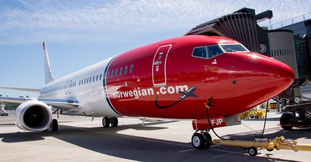HANGARX - Norwegian transportó 33 millones de pasajeros en 2017