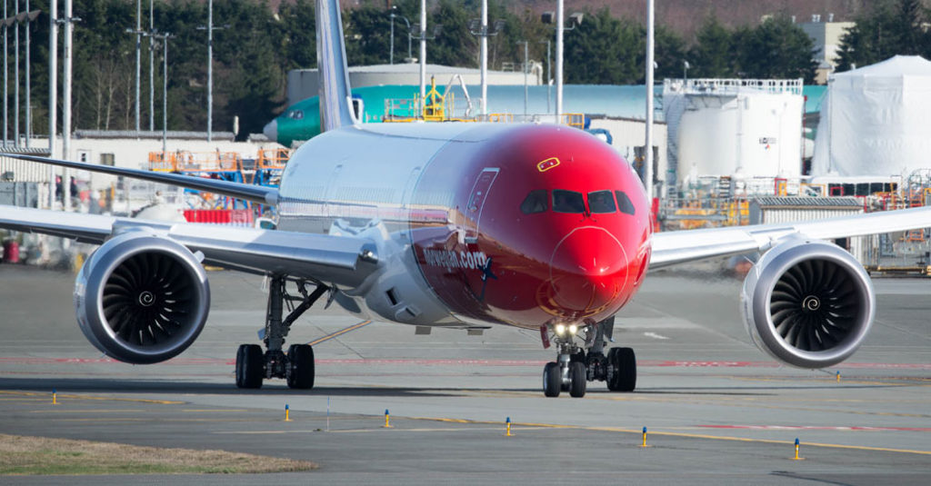 HANGAR X - Récord de velocidad en un vuelo transatlántico de Norwegian