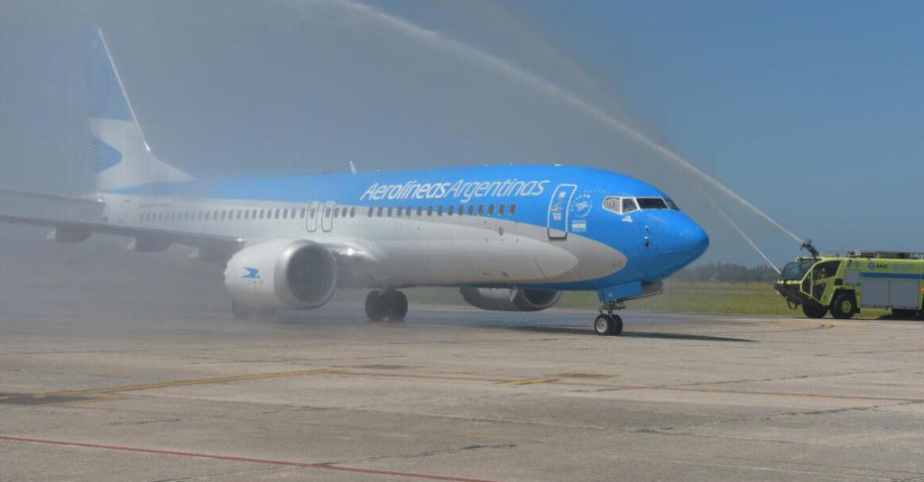 HANGAR X - Aerloíneas Argentinas inició las operaciones del segundo Boeing 737-MAX8 de América Latina
