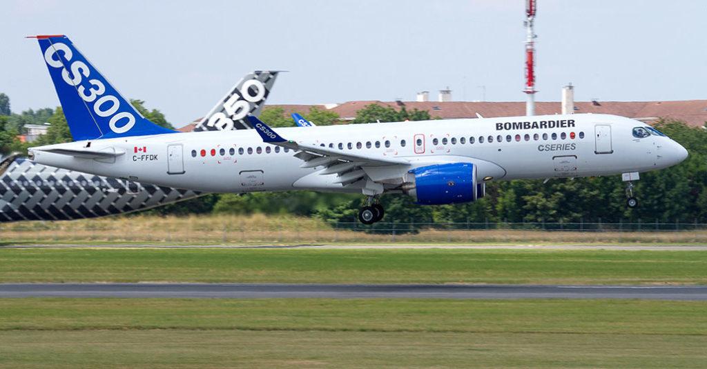 HANGAR X - Air Canada reemplazará sus Embraer E190 por Bombardier CS300