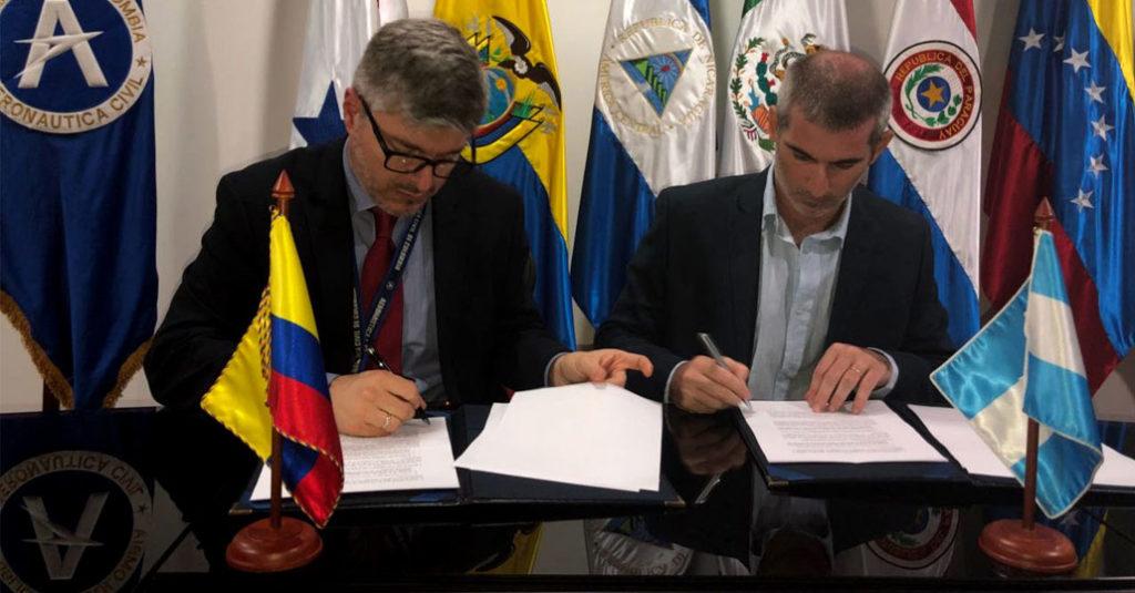 HANGAR X - Argentina y Colombia acuerdan aumentar la conectividad entre ambos países