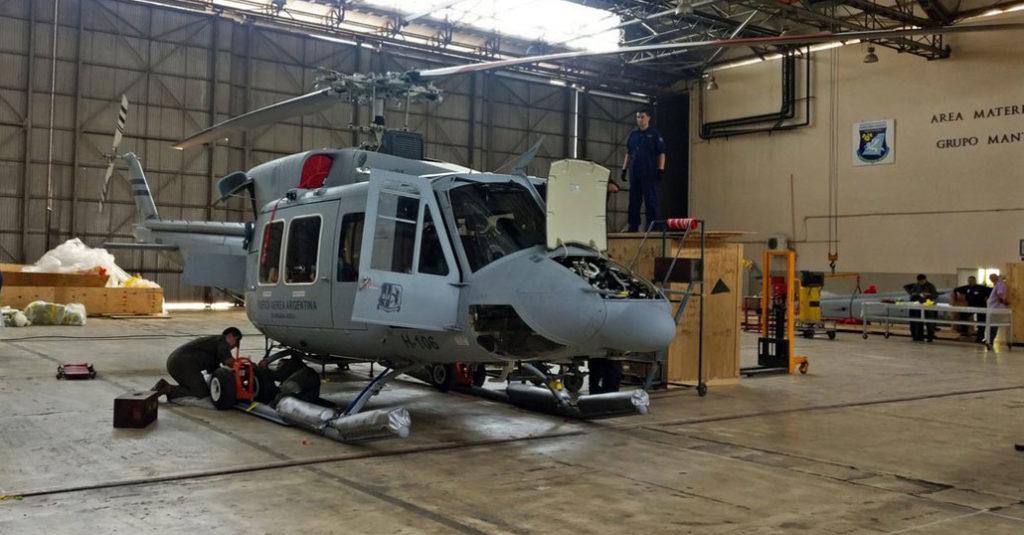 Nuevos Bell 412 para la Fuerza Aérea Argentina