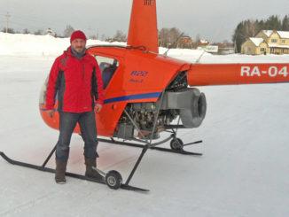HANGAR X - A cinco años del Récord Mundial de distancia con un Robinson R22