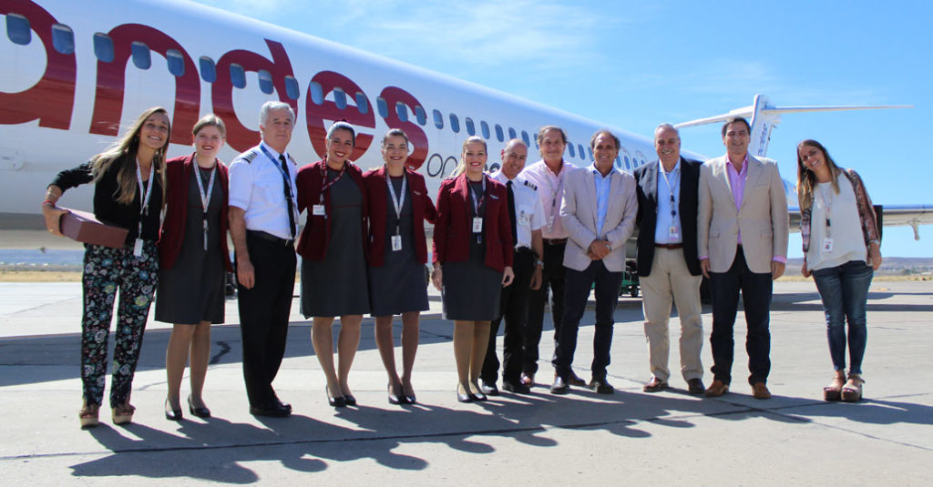 HANGAR X - Andes Líneas Aéreas comenzó a volar a Comodoro Rivadavia