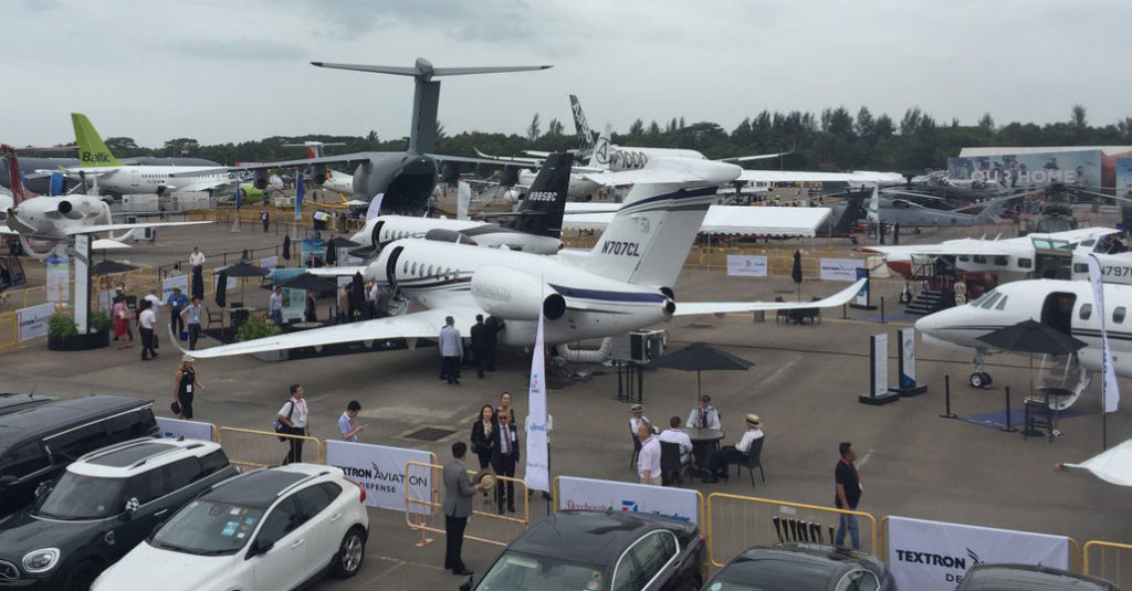 HANGAR X - Textron Aviation at Singapore Airshow 2018