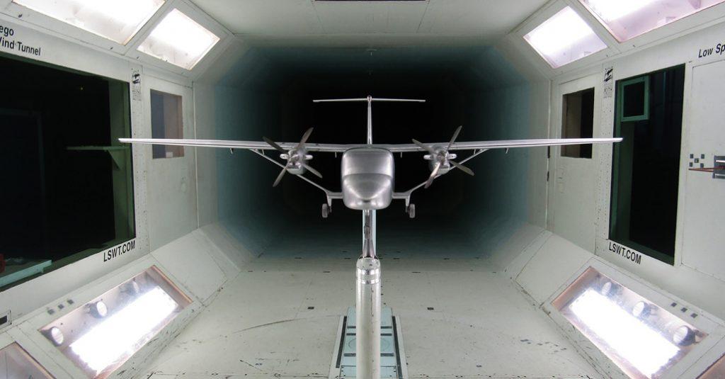 """HANGAR X - El """"SkyCourier"""" de Cessna completo ensayos en túnel de viento"""