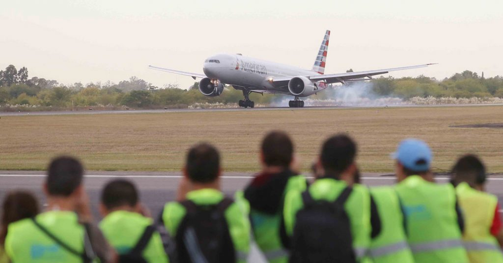 """HANGAR X - Primer """"Spotter Day"""" en al Aeropuerto Internacional de Ezeiza"""