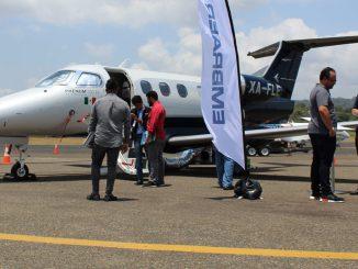 HANGAR X - Embraer Phenom 100EV en Aero Expo Panamá 2018