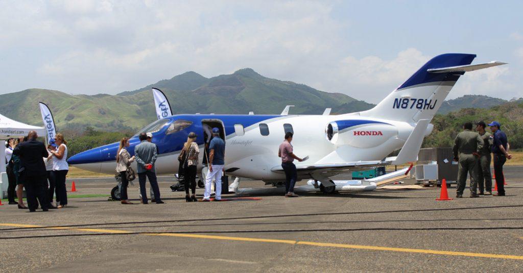 HANGAR X - Honda Jet en Aero Expo Panamá 2018