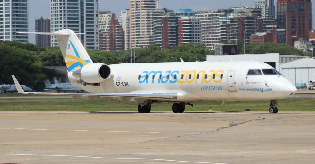 HANGAR X - Bombardier CRJ200 Amaszonas Uruguay