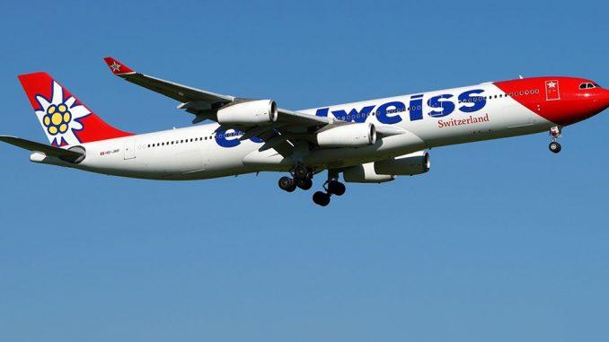 HANGAR X - Airbus A340-300 Edelweiss nueva ruta Buenos Aires - Zurich