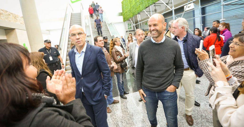 HANGAR X - Guillermo Dietrich, visitó la nueva Terminal del Aeropuerto Internacional de Comodoro Rivadavia