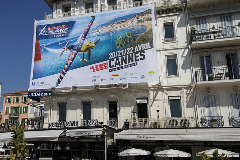 HANGAR X - Red Bull Air Race 2018 Cannes street promo